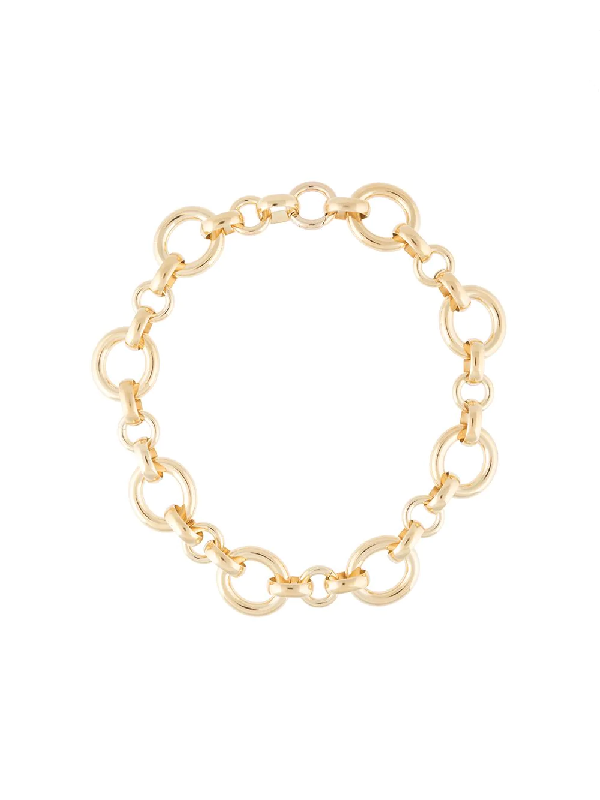 Laura Lombardi Calle Link Necklace In Gold