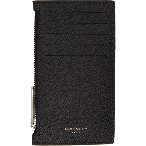 Givenchy Card Holder In 003-black/y