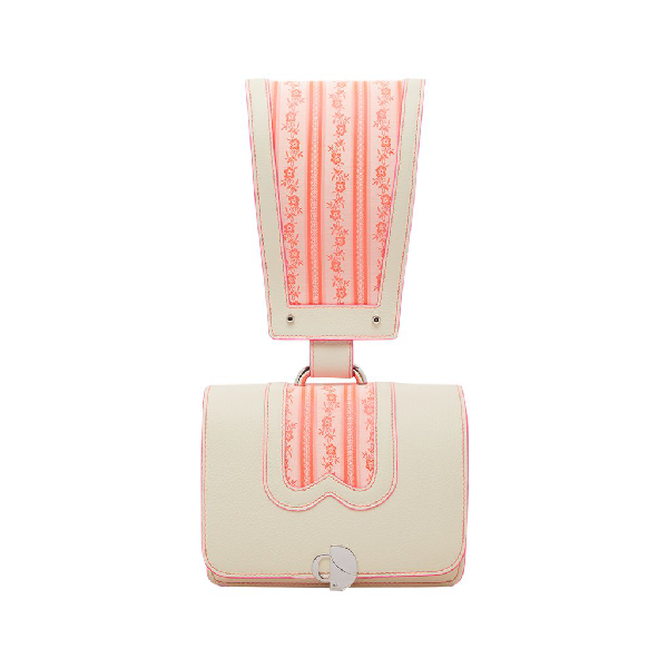 Chiara Daverio Glo Glon In White And Fuchsia