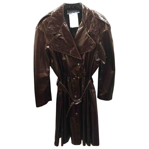 Mugler Brown Coat