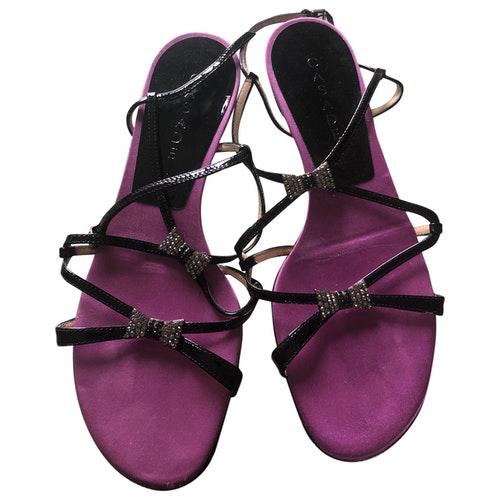 Casadei Multicolour Leather Flats