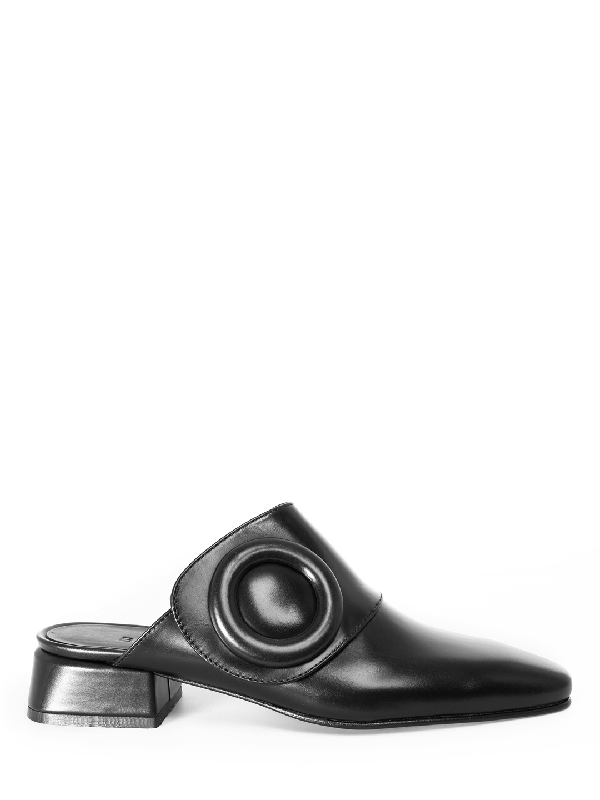 Boyy Slider Black Leather