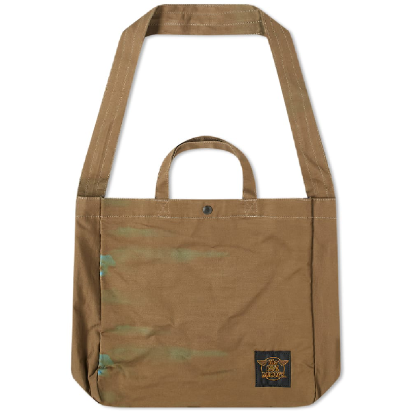 The Real Mccoys The Real Mccoy's Eco Shoulder Bag In Brown