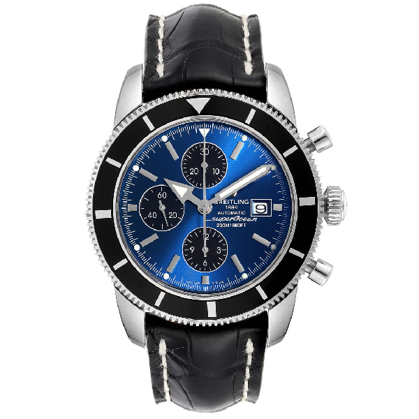 Breitling Superocean Heritage Chrono 46 Watch A13320 Box Papers In Multi