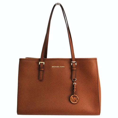 Michael Kors Camel Leather Handbag