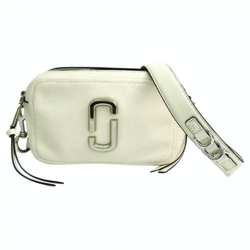 Marc Jacobs Snapshot White Leather Handbag