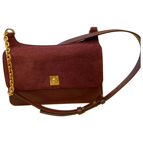 Michael Kors Burgundy Leather Handbag