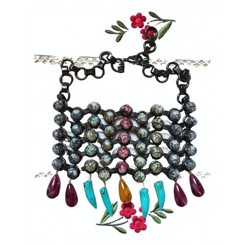 Dannijo Multicolour Metal Necklace