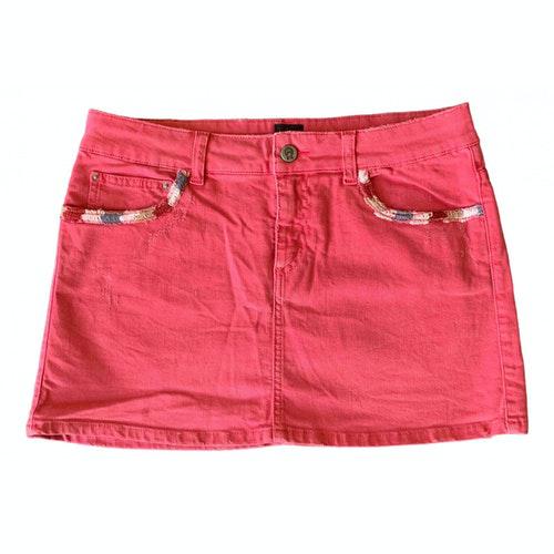Swildens Pink Denim - Jeans Skirt