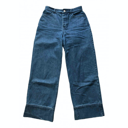 Kowtow Blue Cotton Jeans