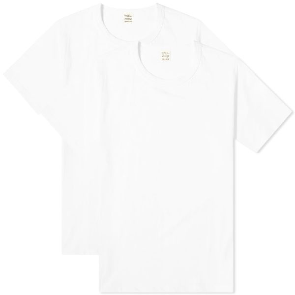The Real Mccoys The Real Mccoy's Tee - 2 Pack In White