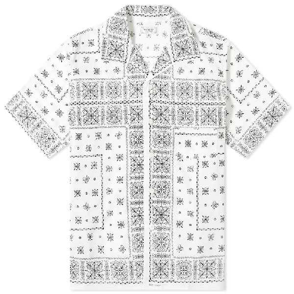 The Real Mccoys The Real Mccoy's Joe Mccoy Bandana Shirt In White