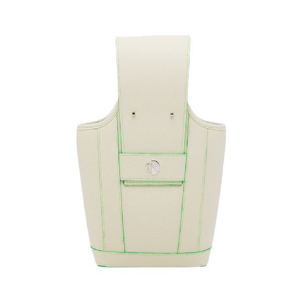 Chiara Daverio Doven In White And Green
