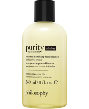 Philosophy Purity Made Simple Oil-free One-step Mattifying Facial Cleanser, 8-oz.