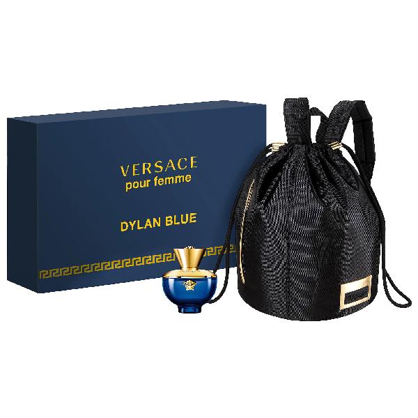 Versace Dylan Blue Pour Femme Backpack Set