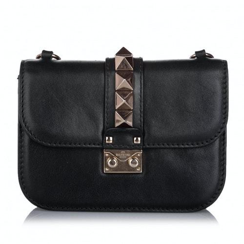 Valentino Garavani Black Leather Handbag