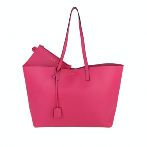 Saint Laurent Pink Leather Handbag