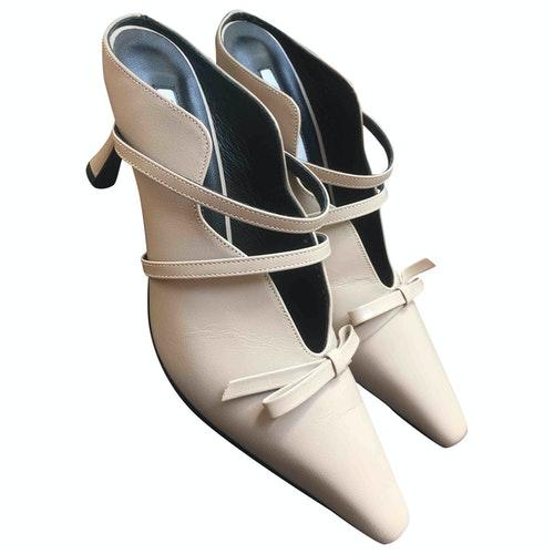 Yuul Yie Beige Leather Sandals