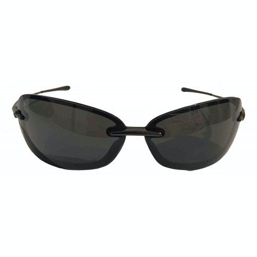 Mugler Black Metal Sunglasses