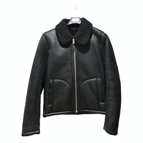 Ymc You Must Create Black Leather Jacket