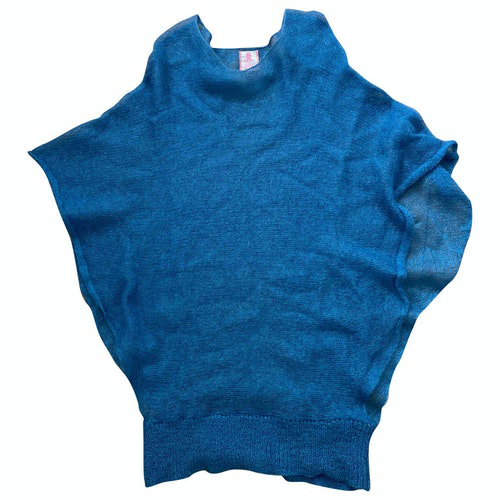 Lala Berlin Blue Wool Knitwear