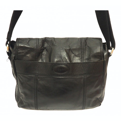 Fossil Black Leather Bag