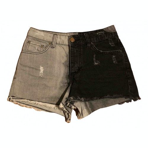 Les Éclaires Grey Denim - Jeans Shorts