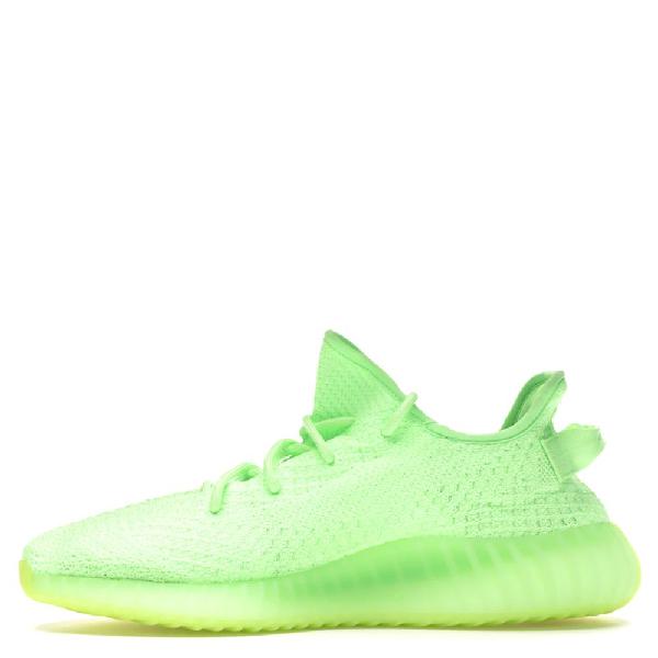 Adidas Originals Yeezy 350 V2 Glow In The Dark (gid) Sneakers Size 46 In Green