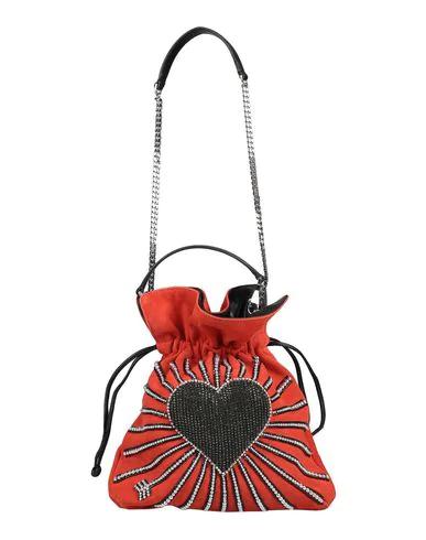 Les Petits Joueurs Handbag In Red