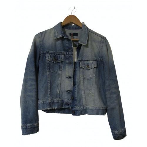 Simon Miller Blue Cotton Jacket