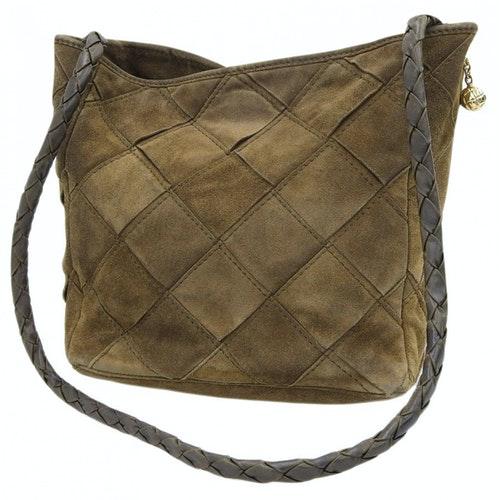Bottega Veneta Brown Suede Handbag