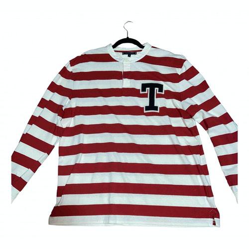 Tommy Hilfiger White Cotton Polo Shirts