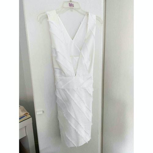 Milly White Cotton Dress