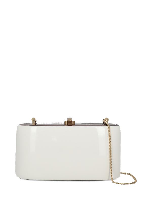 Rocio Cross Body Bag In Brown, White