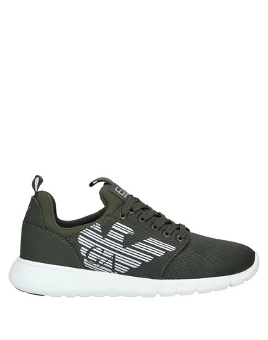 Ea7 Sneakers In Military Green