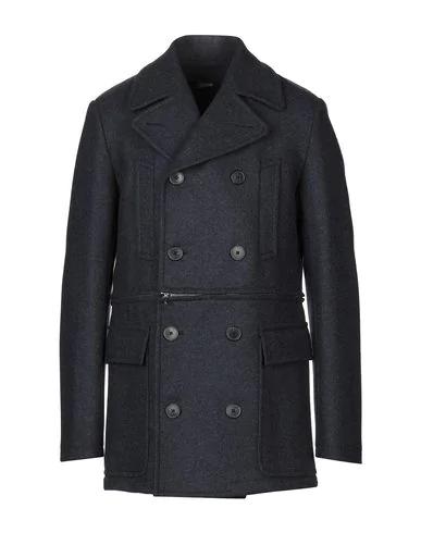 Jean Paul Gaultier Coat In Dark Blue