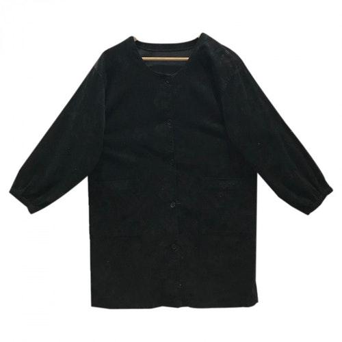 Pierre Balmain Black Cotton  Top