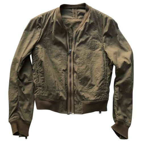 Saint Laurent Khaki Cotton Jacket