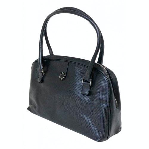 Bottega Veneta Black Leather Handbag