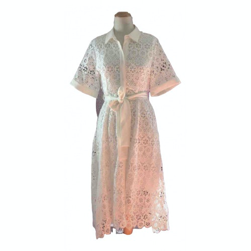 Maje Spring Summer 2019 White Lace Dress