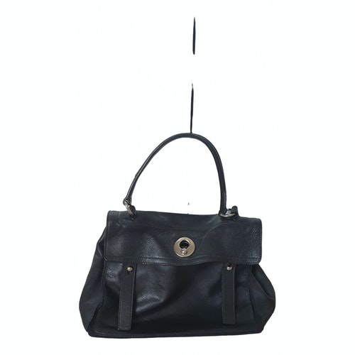 Saint Laurent Muse Two Black Leather Handbag