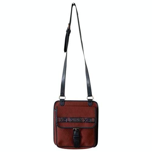 Saint Laurent Burgundy Cloth Small Bag, Wallet & Cases