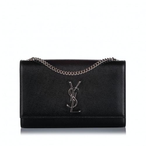 Saint Laurent Black Leather Handbag
