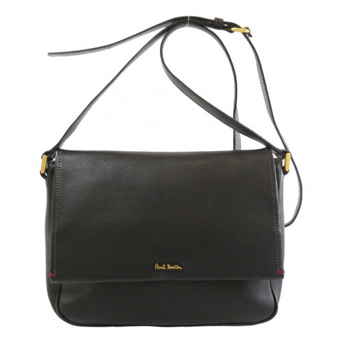 Paul Smith Black Leather Handbag