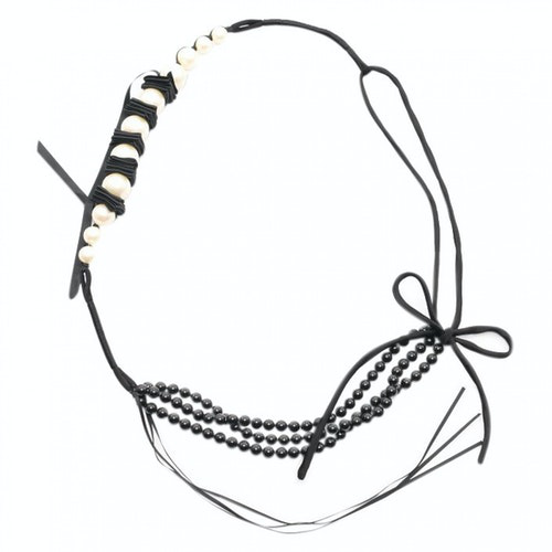 Lanvin Black Pearls Necklace