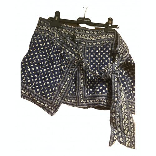 Isabel Marant Étoile Blue Cotton Skirt
