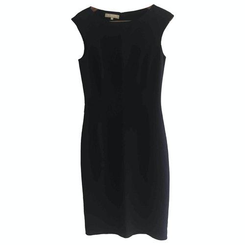 Michael Kors Black Wool Dress