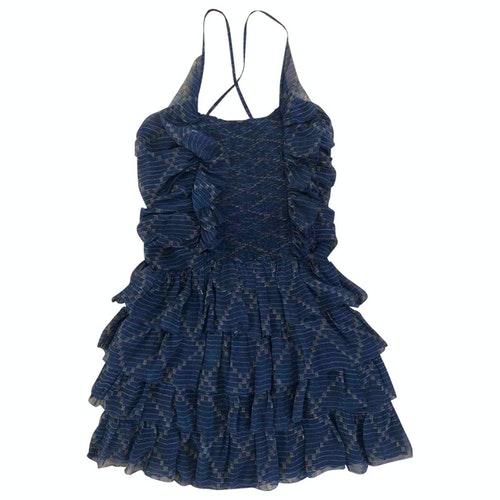 Isabel Marant Étoile Navy Silk Dress
