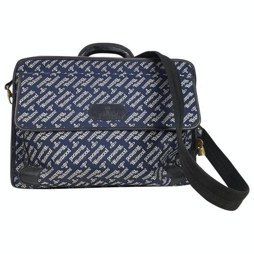 Vivienne Westwood Navy Cloth Bag