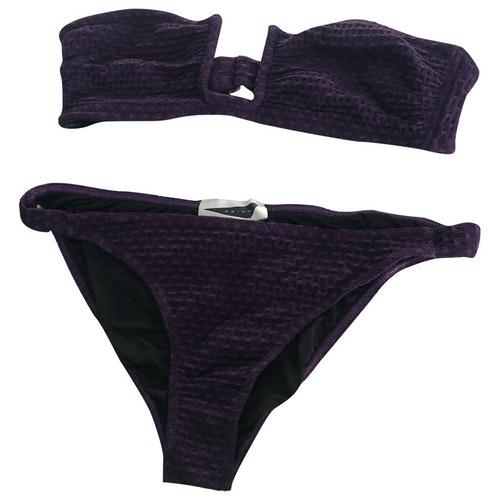 Prism Purple Lycra Swimwear